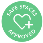 Safe Spaces Approved Graphic
